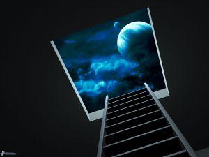 universe, window, ladder 159155