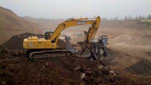 crusher-excavator