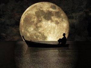 boat n moon