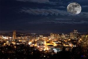 Portland-Super-Moon